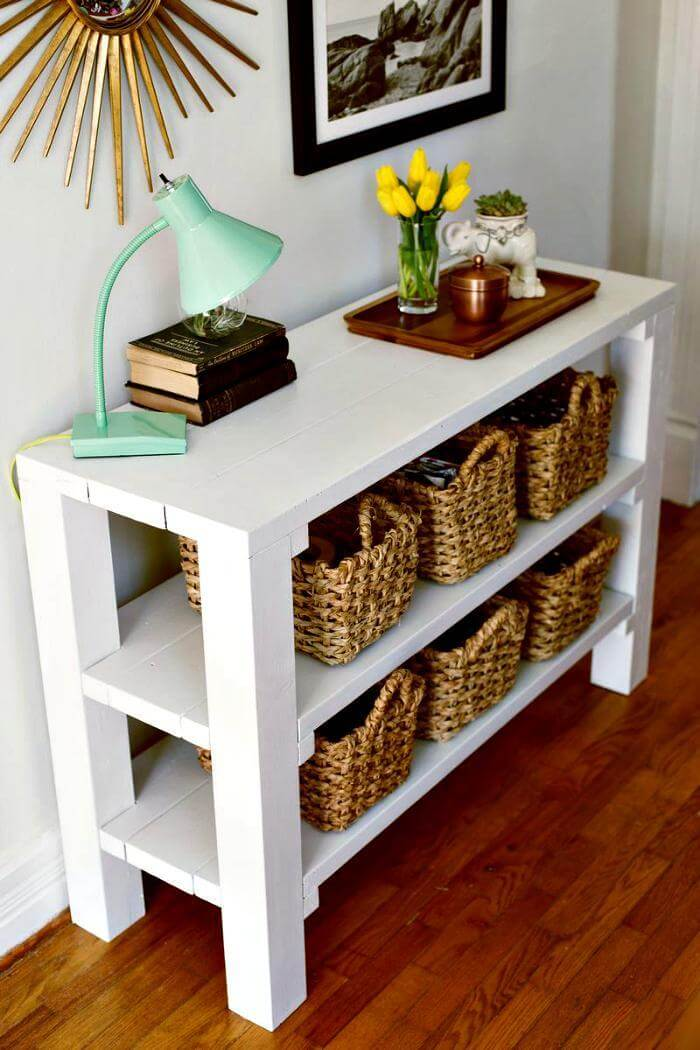 Foyer Diy Guide : Best diy entryway table ideas with tutorials crafts