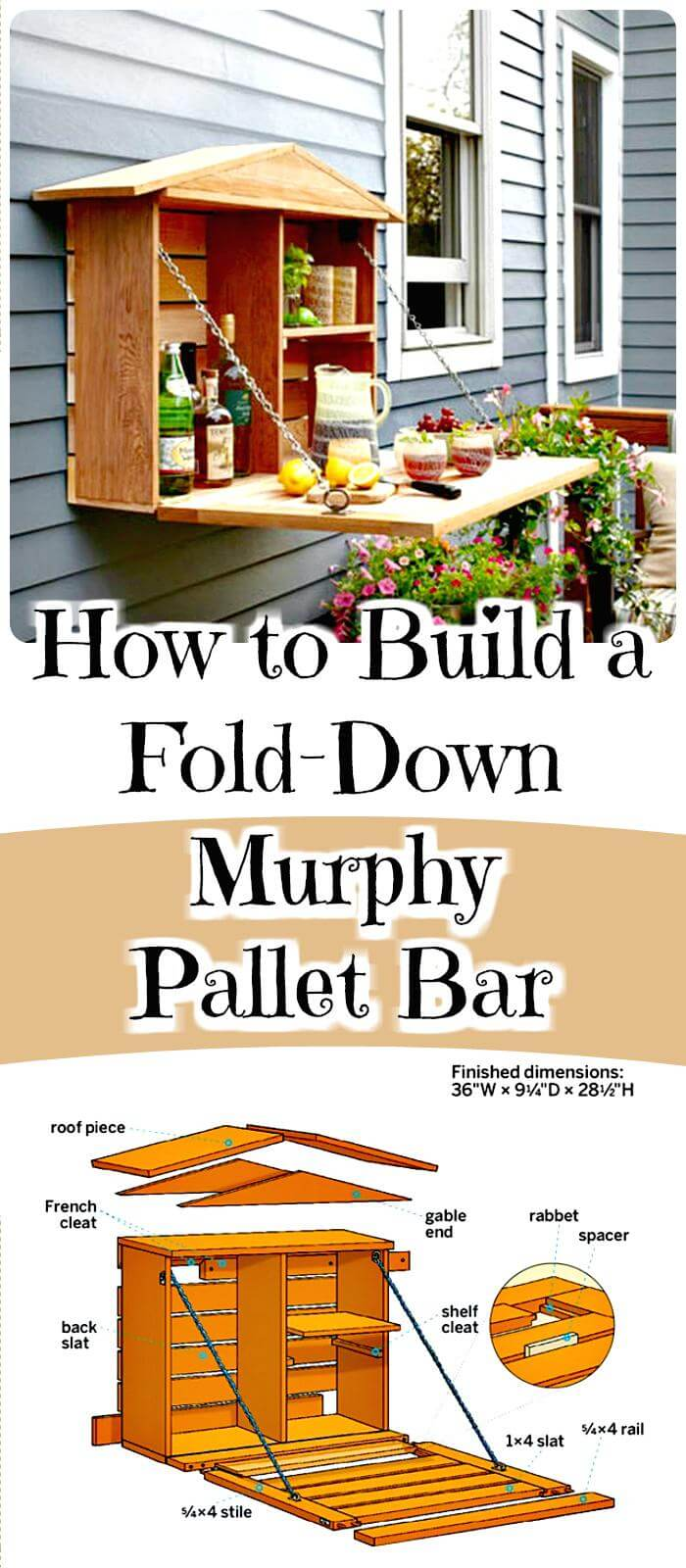 150 best diy pallet projects and pallet furniture crafts for How to build a coffee bar