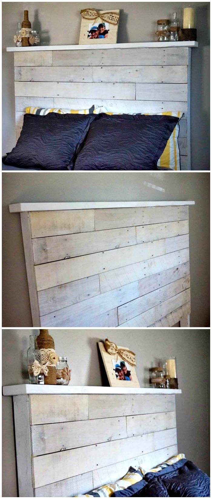 150 best diy pallet projects and pallet furniture crafts How to make your own headboard