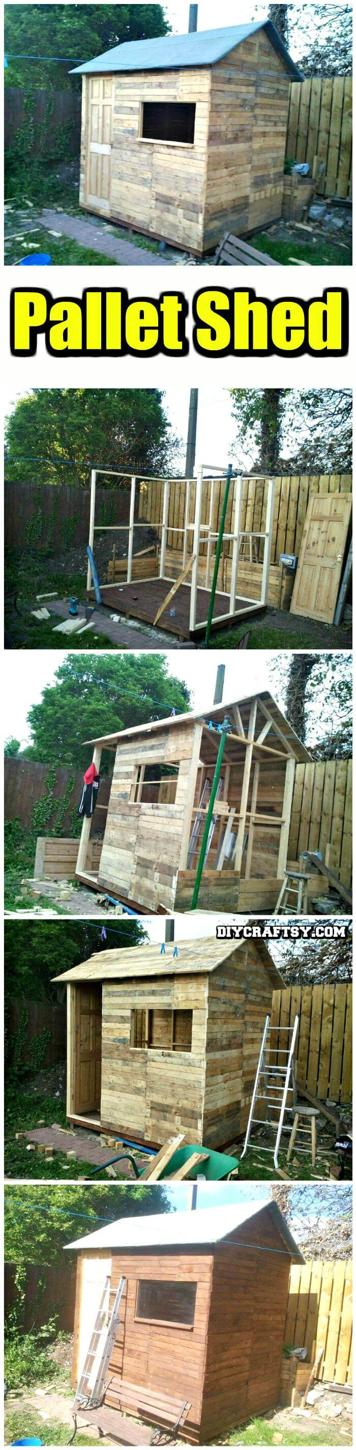 150 Best DIY Pallet Projects and Pallet Furniture Crafts ...