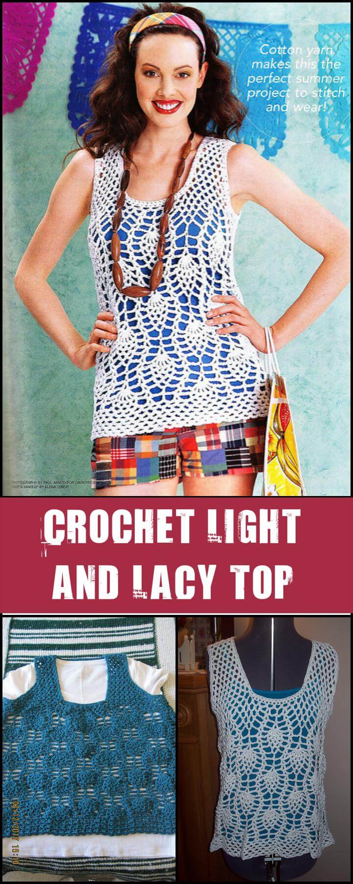 Crochet Light and Lacy Top