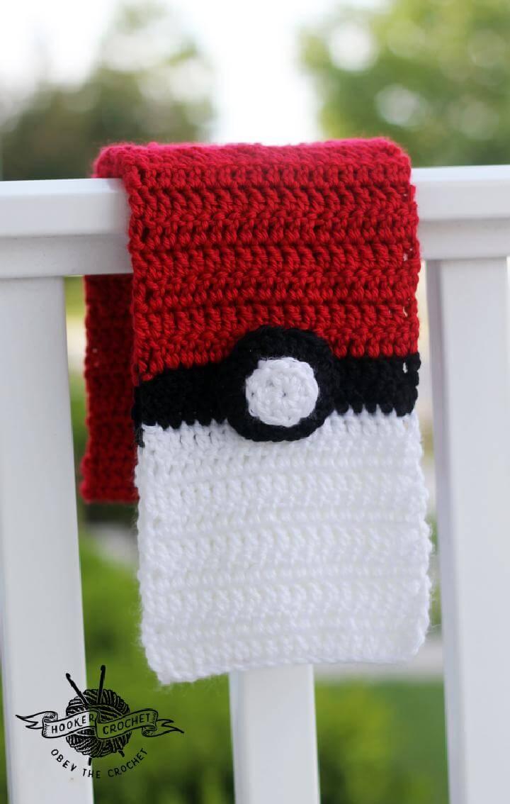 Crochet Pokemon Scarf Free Pattern