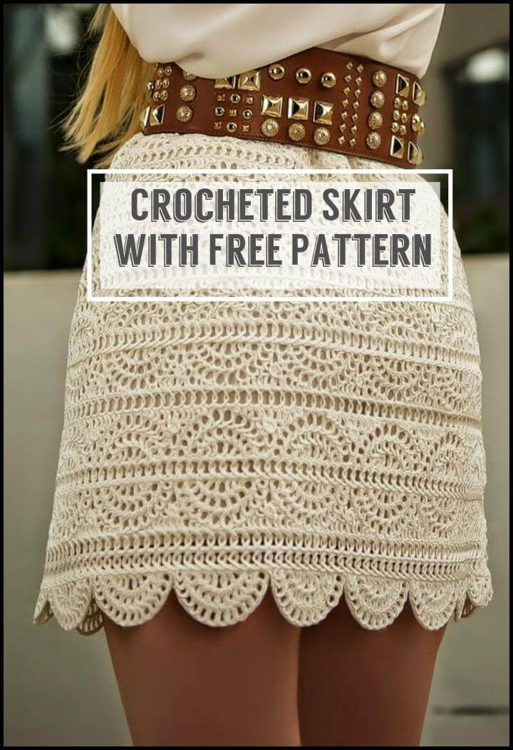 Crocheted Skirt with Free Pattern