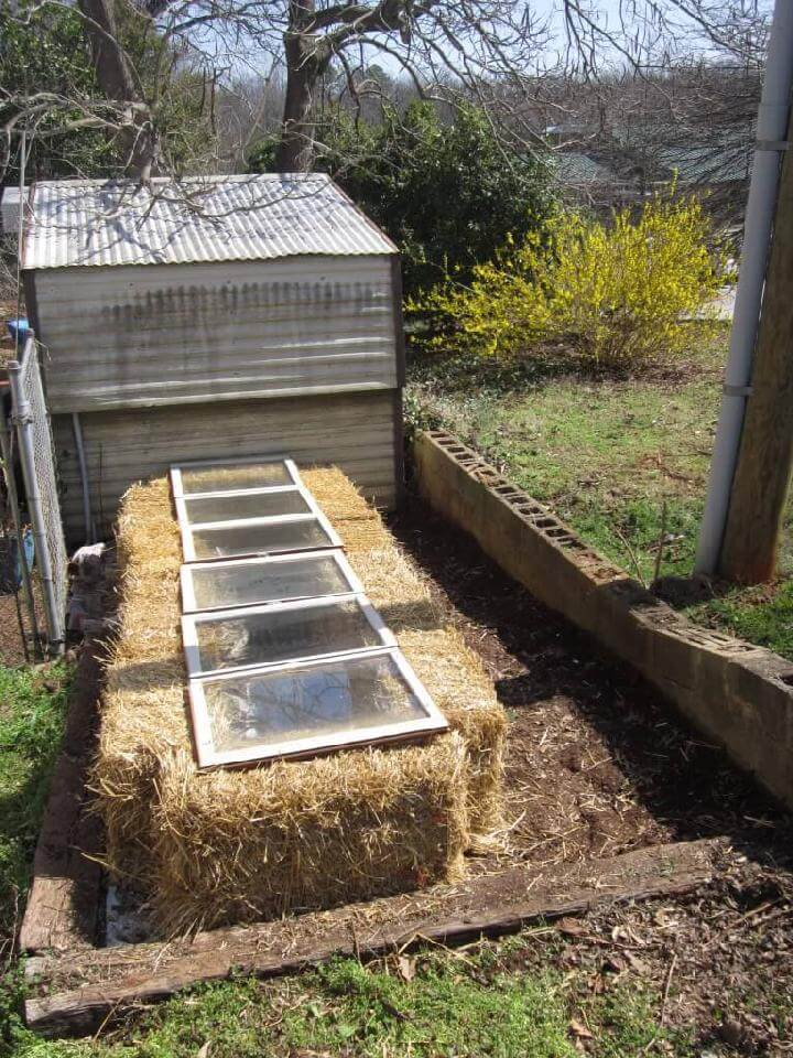DIY 15 Minute Greenhouse