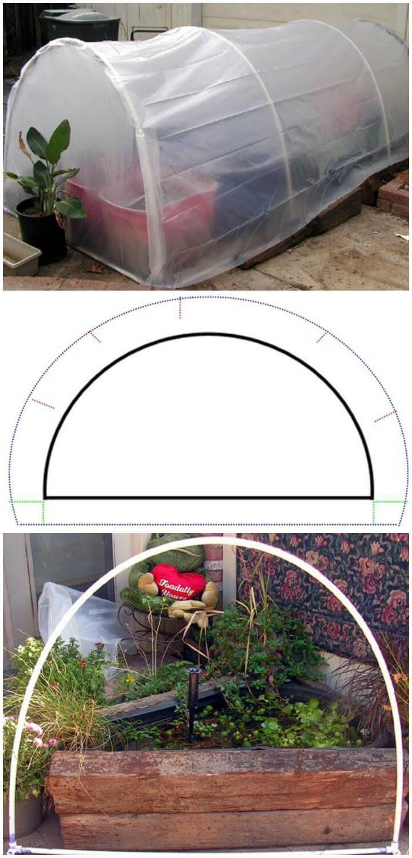 DIY $25 Greenhouse Plans