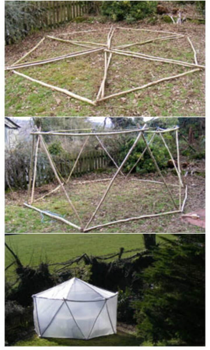 DIY 30 Pound Mini Greenhouse