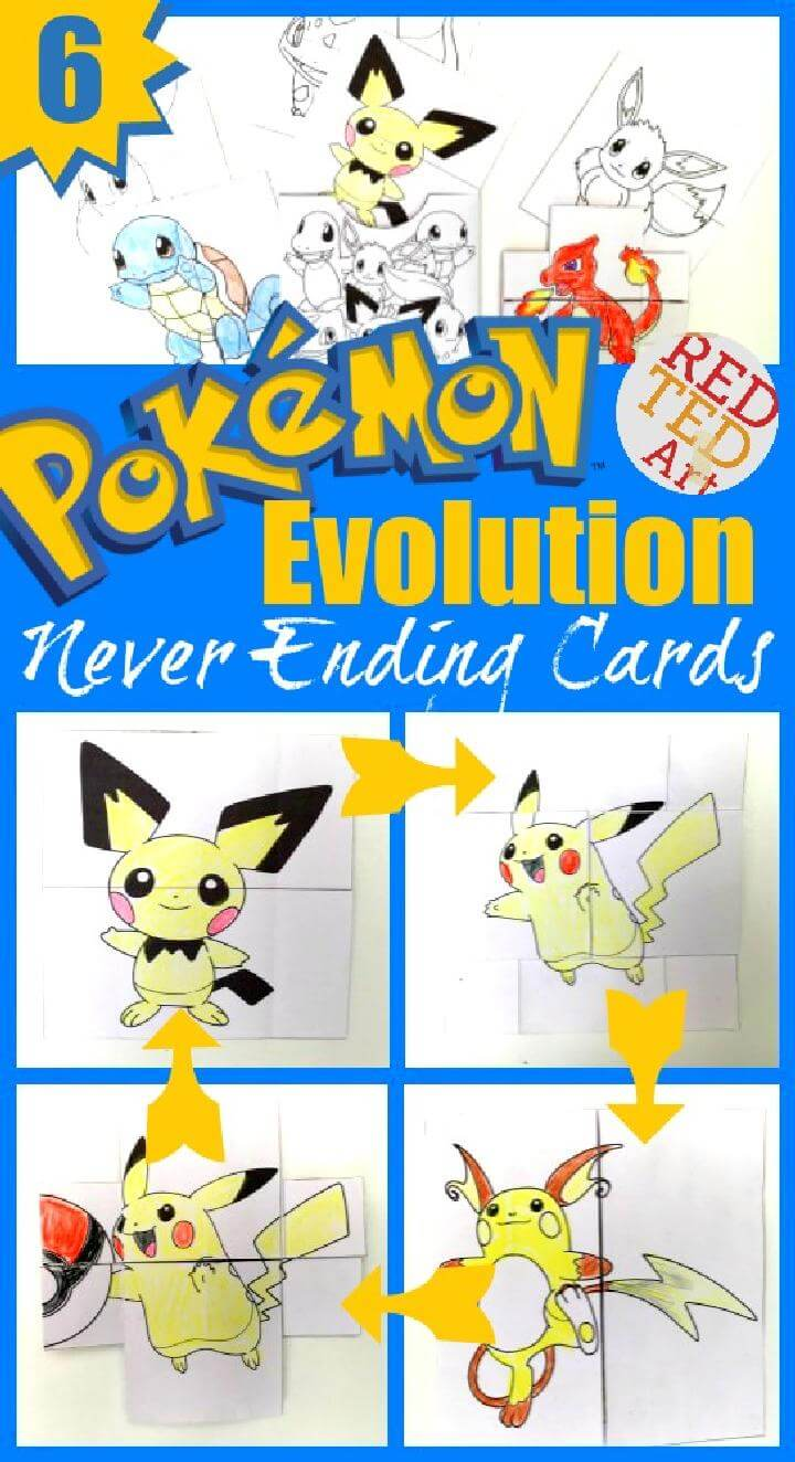 40 Diy Pokemon Crafts Your Kids Will Love Page 2 Of 4