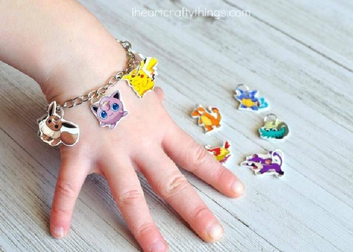 Easy Pokemon Charm Bracelet