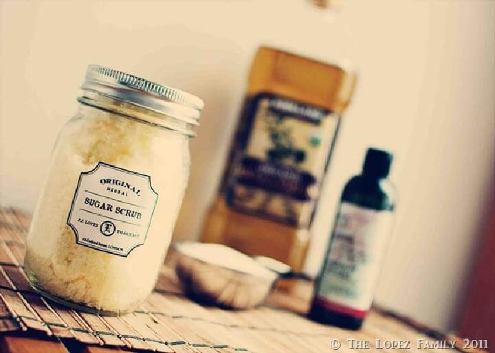 DIY Brilliant Homemade Sugar Scrub