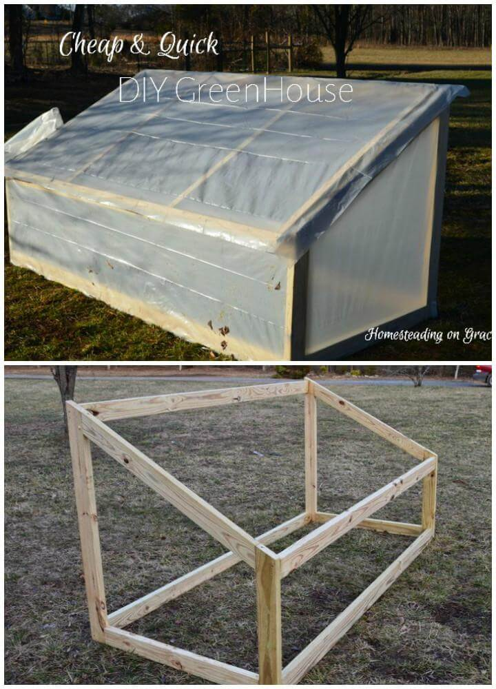 DIY Budget-Friendly and Easy-toBuild Wooden Greenhouse