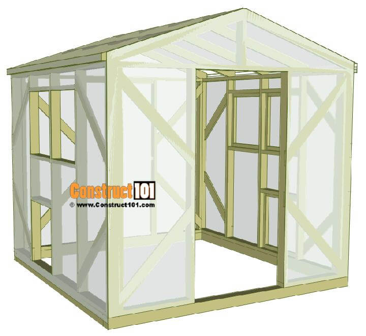 DIY Complete Greenhouse Plan and Instructions