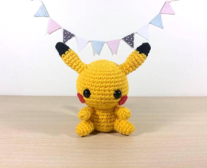 Easy-to-Crochet Pikachu Plushie