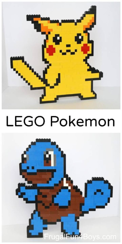 Brilliant Lego Pokemon