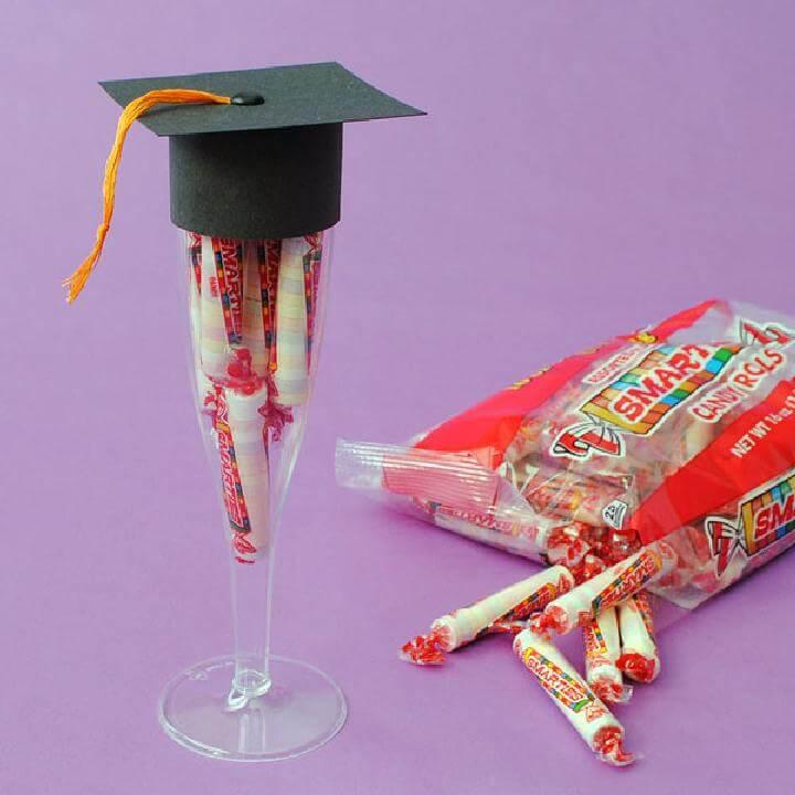 DIY Flute Graduation Party Favor