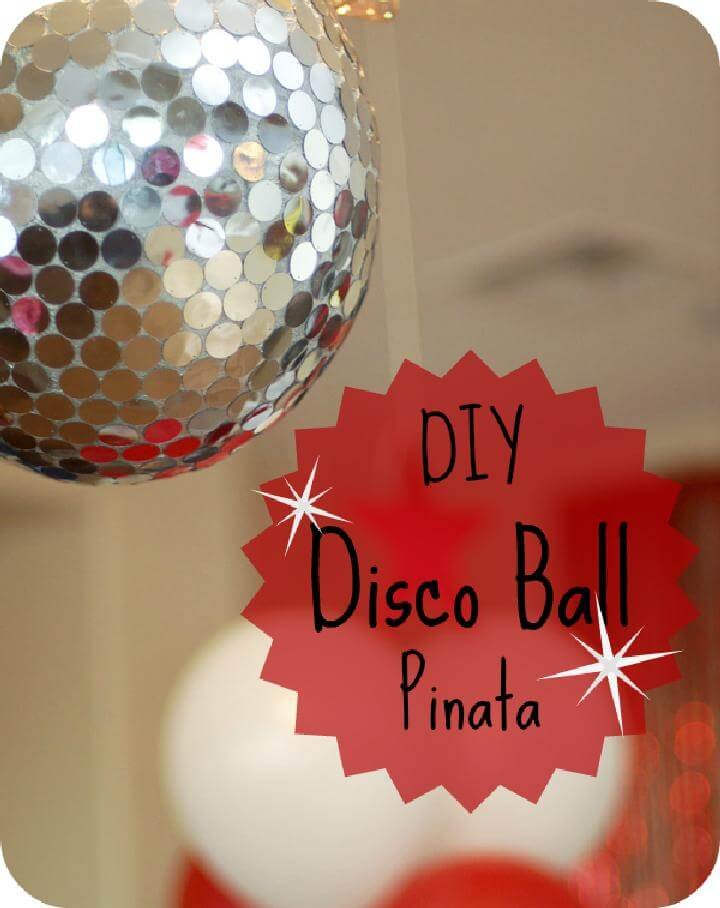 DIY Grad Party Disco Ball