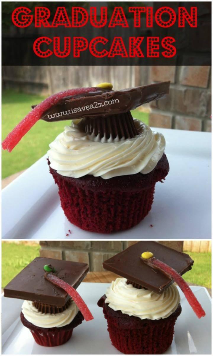 DIY Graduation Party Cupcakes