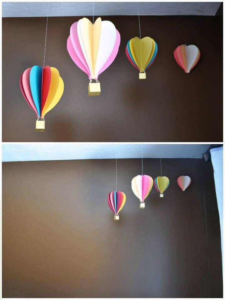 DIY Hot Air Balloon Grad Party Decors