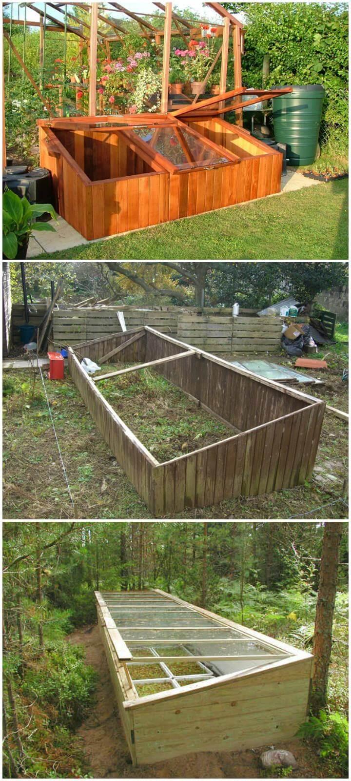 DIY Lasting Elegant Wooden Greenhouse Instructions