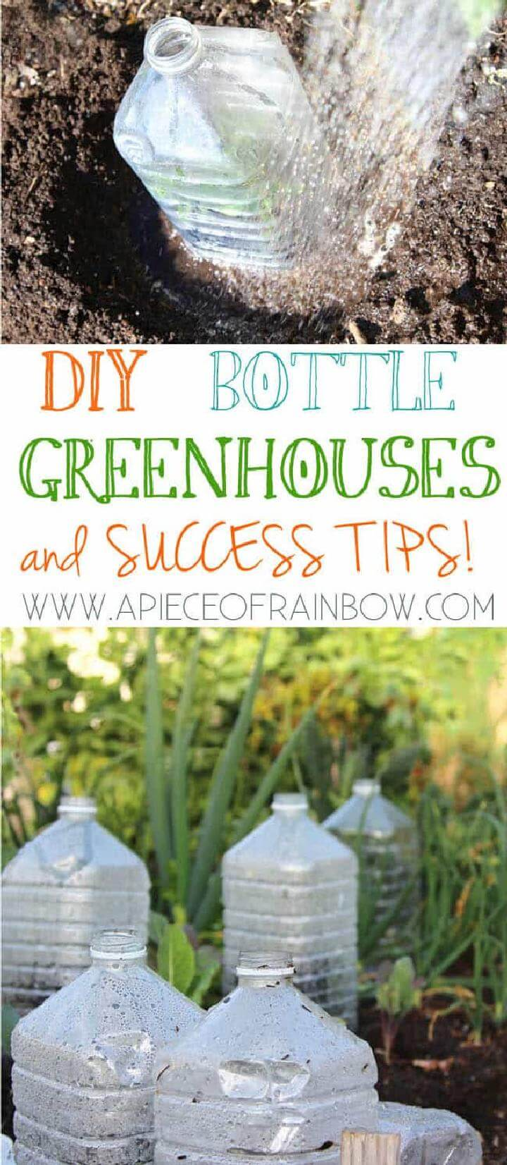 DIY Plastic Bottle Greenhouse
