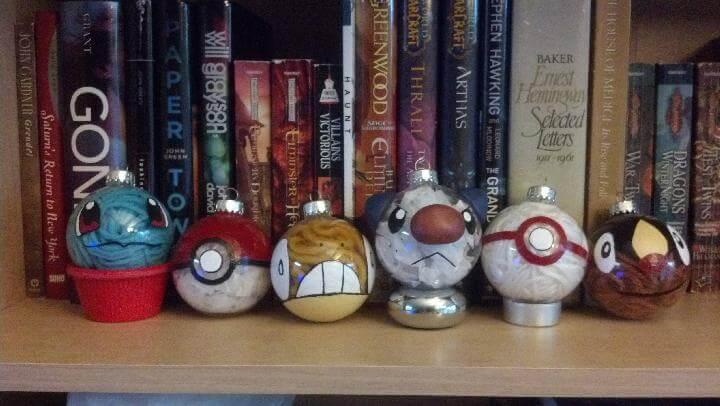 DIY Pokemon Festival Baubles