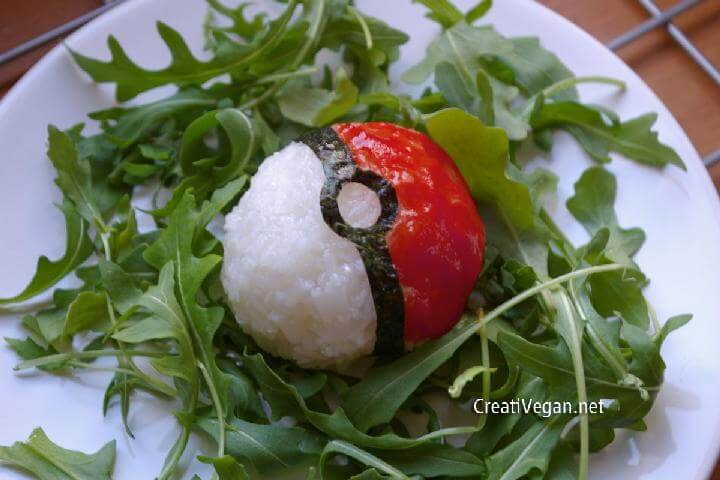 DIY Rice Pokeball Recipe