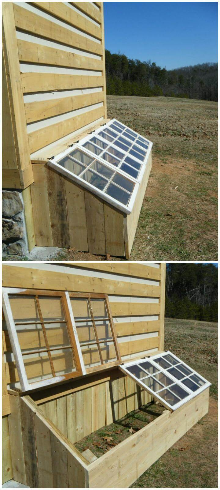 DIY Spring Greenhouse
