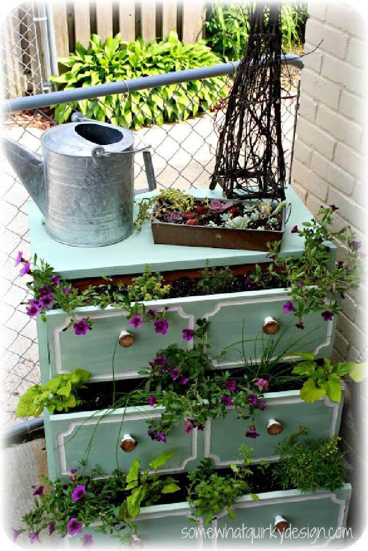 DIY Super Beautiful Planter Dresser