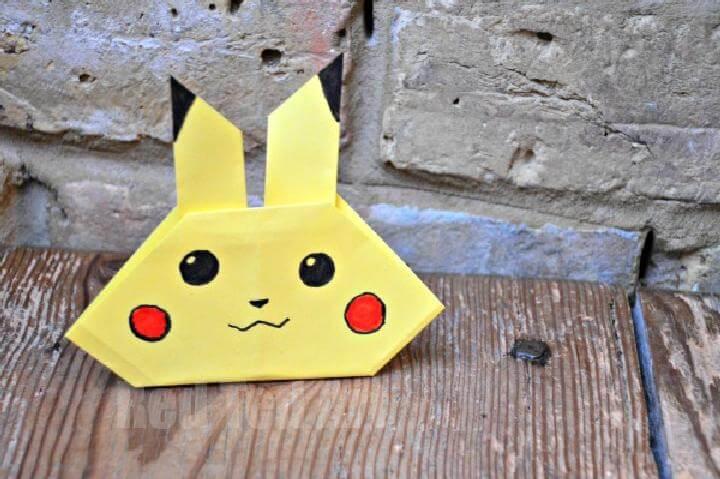 DIY Super Easy Pikachu Craft