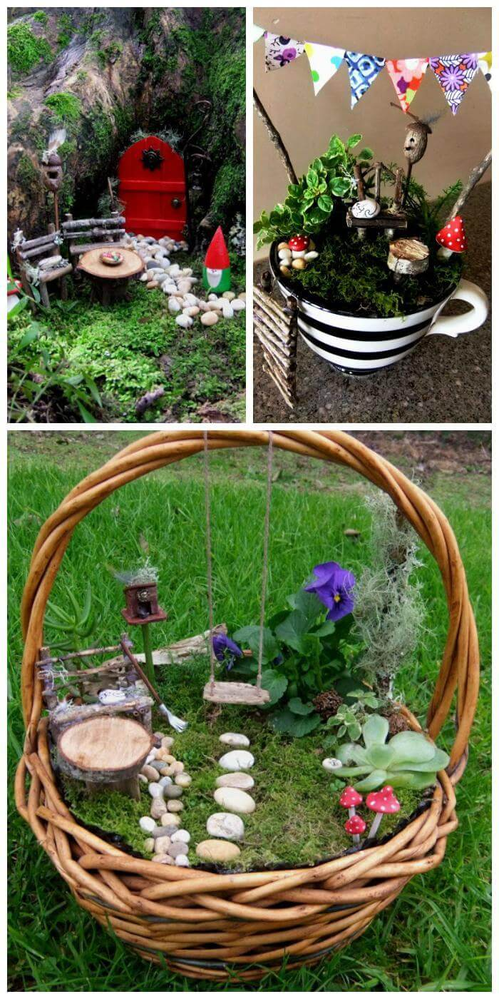 60 Best DIY Fairy Garden Ideas / Fairy Garden Houses - DIY ...