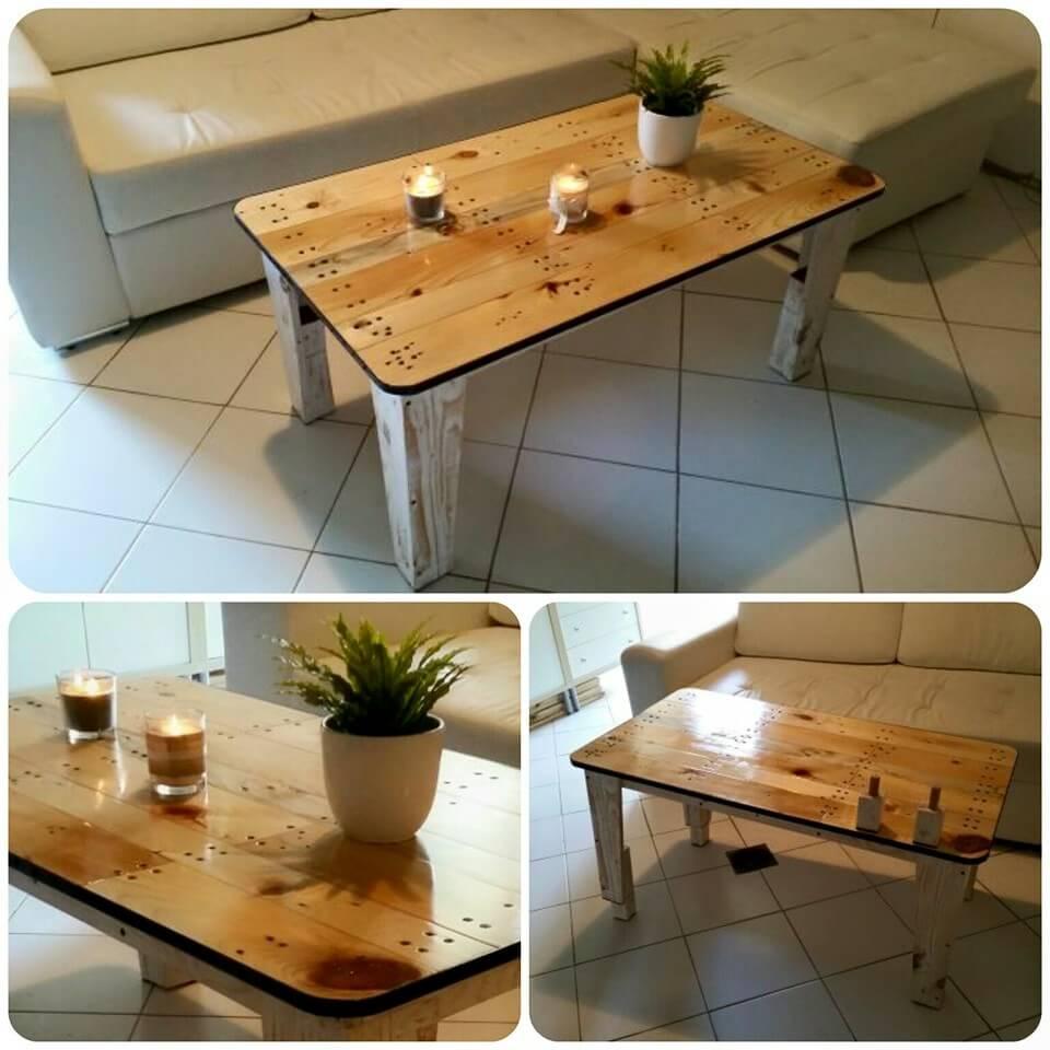 DIY Pallet Coffee Table Tutorial - DIY & Crafts