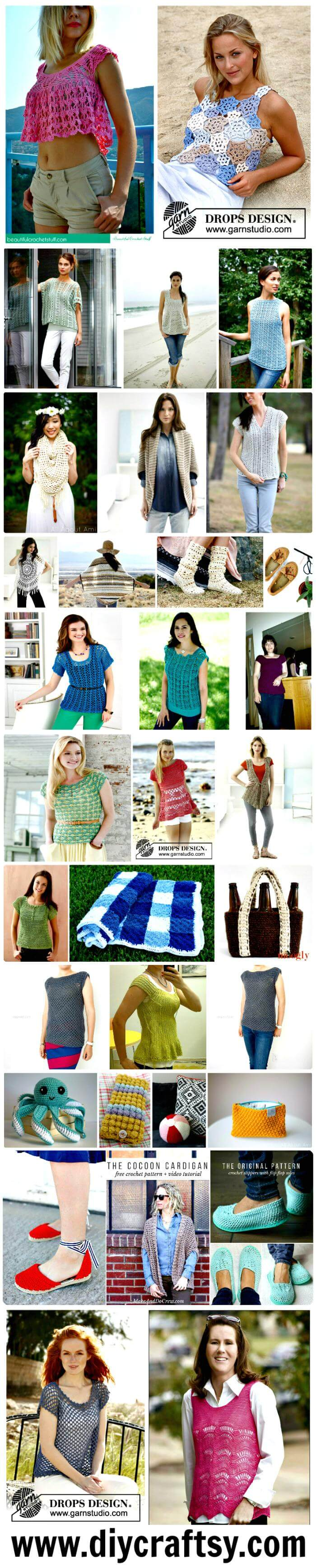 Free Crochet Patterns