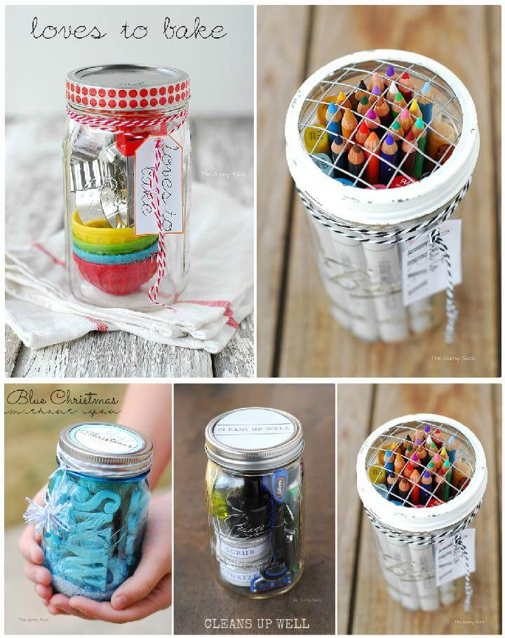 DIY 5 Amazing Mason Jar Gift Ideas
