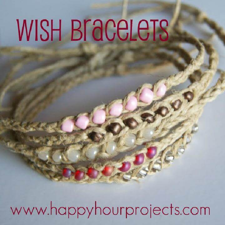 DIY Beautiful Beaded Wish Bracelet