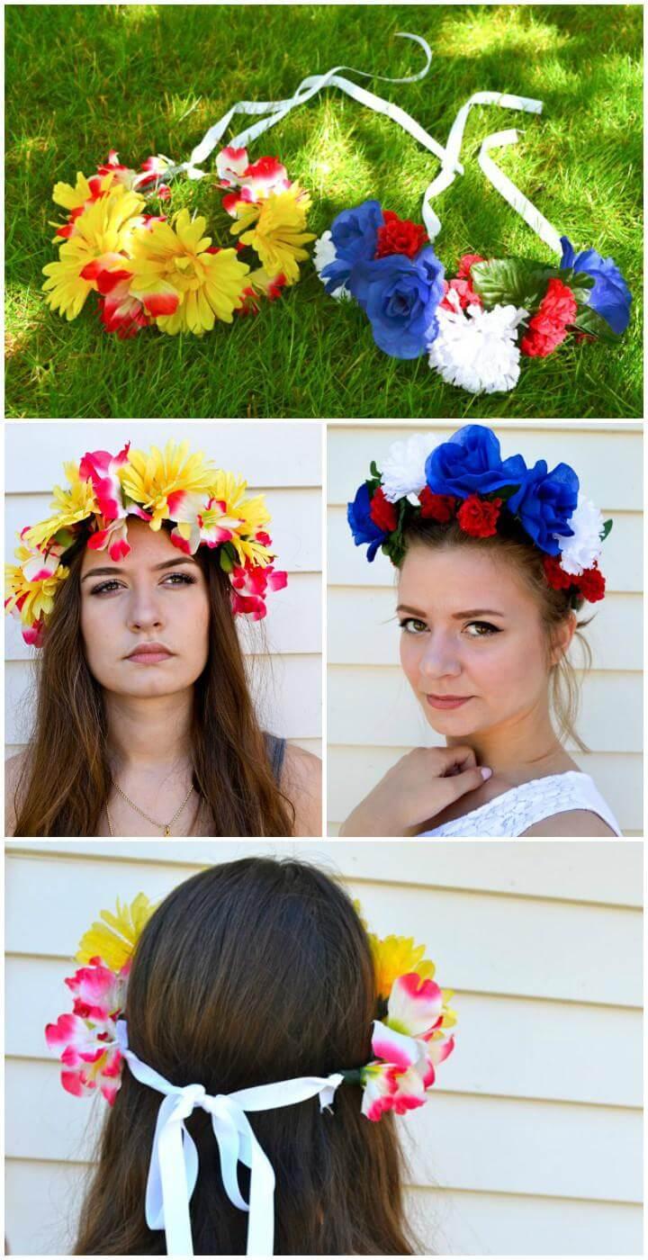DIY Easy yet Beautiful Flower Crown or Headband