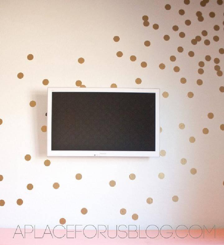 DIY Excellent Confetti Wall