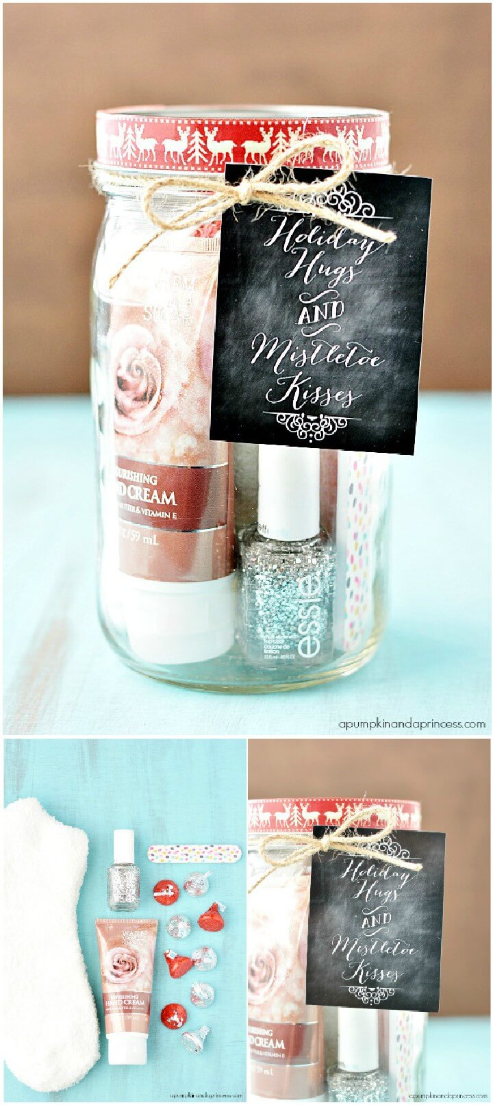 DIY Holiday Mason Jar Gift