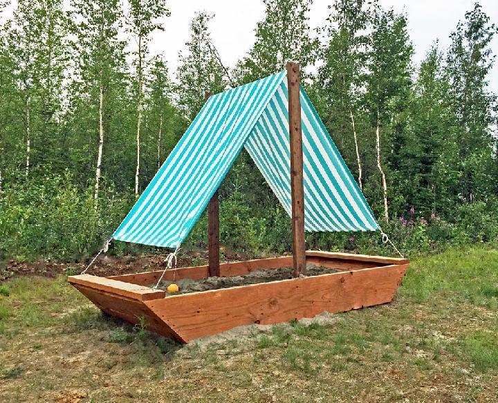 DIY Homemade Amazing Sail Boat or Ship Sandbox