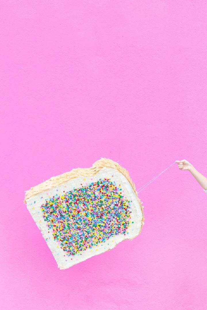 DIY Homemade Fairy Bread Pinata