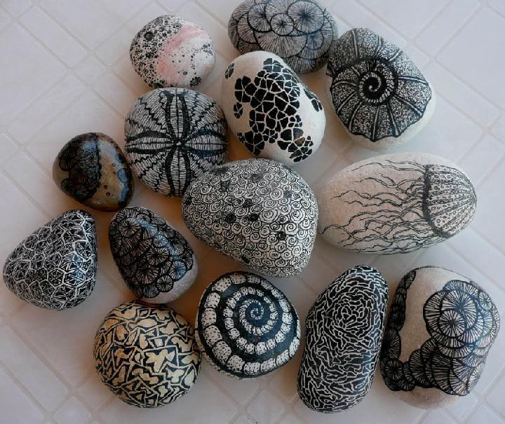 DIY Self-Decorated Beautiful Zenstones