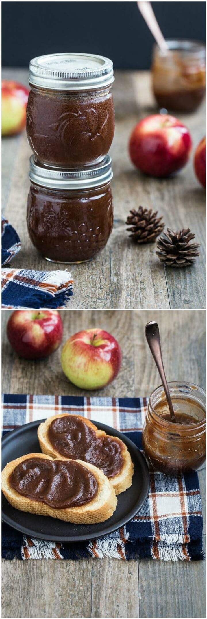 DIY Slow Cooker Mason jar Apple Butter Gift