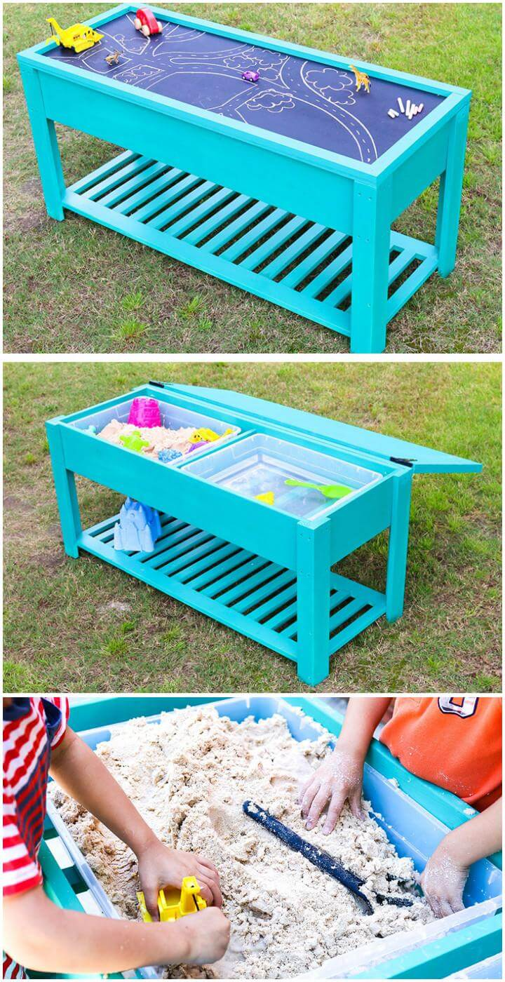60 Diy Sandbox Ideas And Projects For Kids Diy Amp Crafts