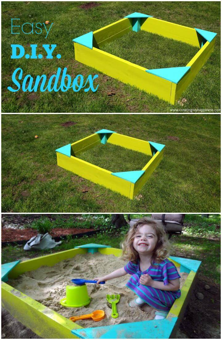 DIY Timeless Kids Sandbox