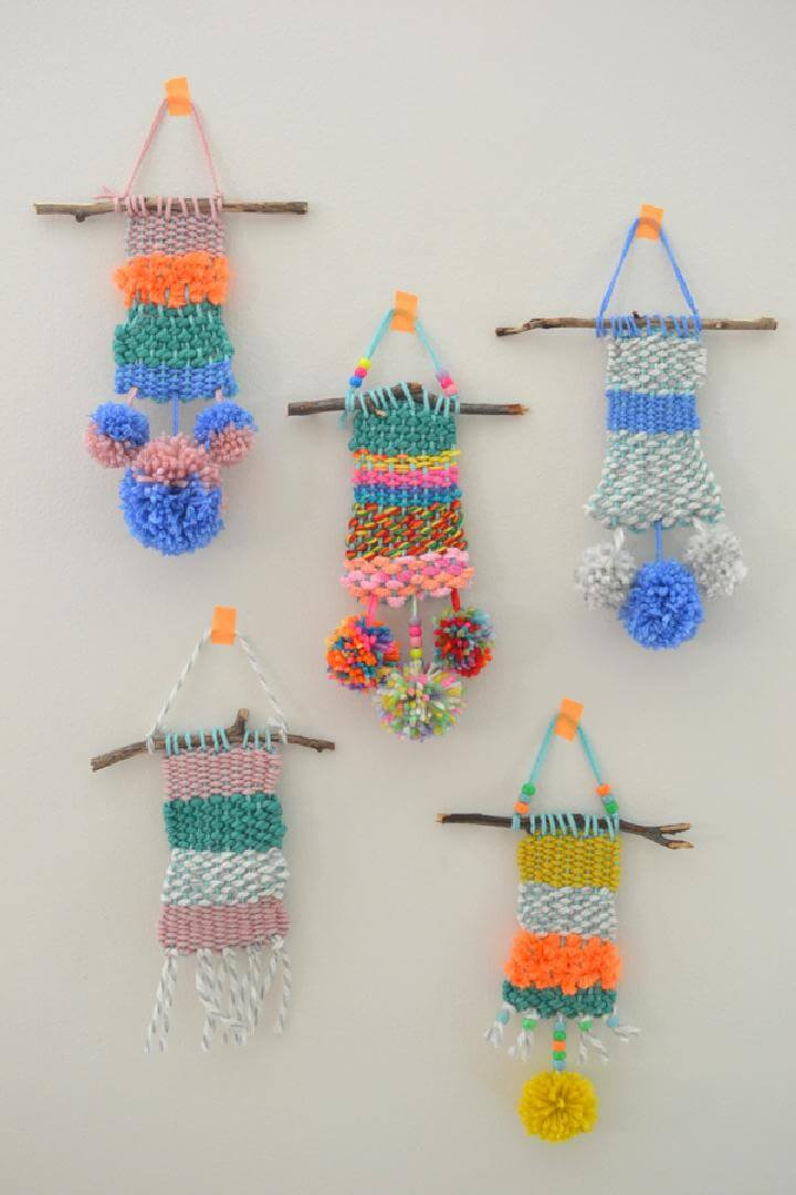 DIY Weaving With Kids Looms - Camp Crafting
