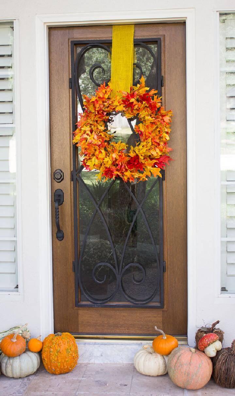 116 Great Diy Fall Wreaths Wreath Ideas For Fall Decor