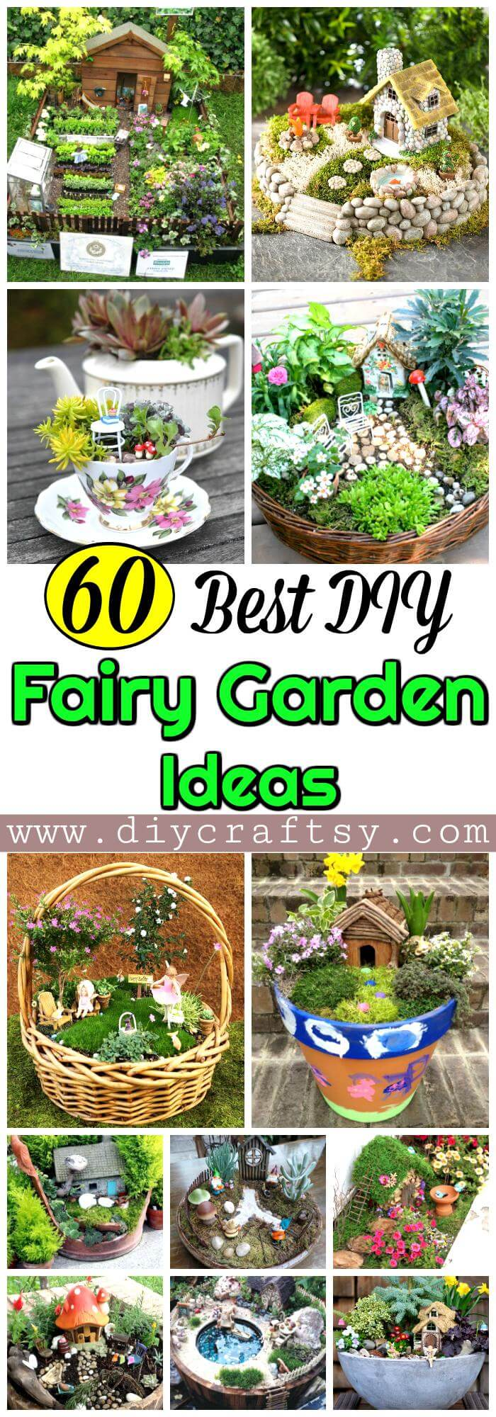 Diy Fairy Garden Ideas 60 best diy fairy garden ideas / fairy garden houses - diy & crafts