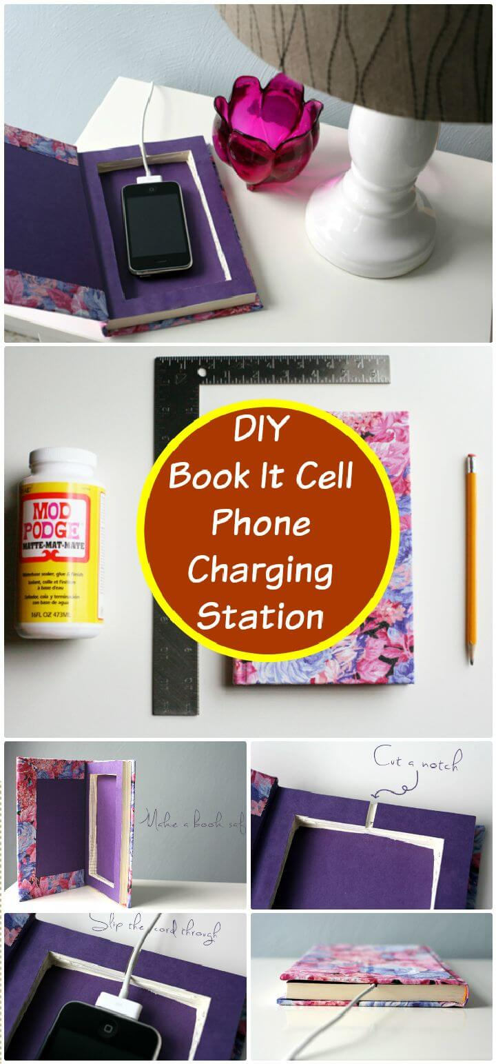 40 best diy charging station ideas easy simple unique Diy cell phone charging station