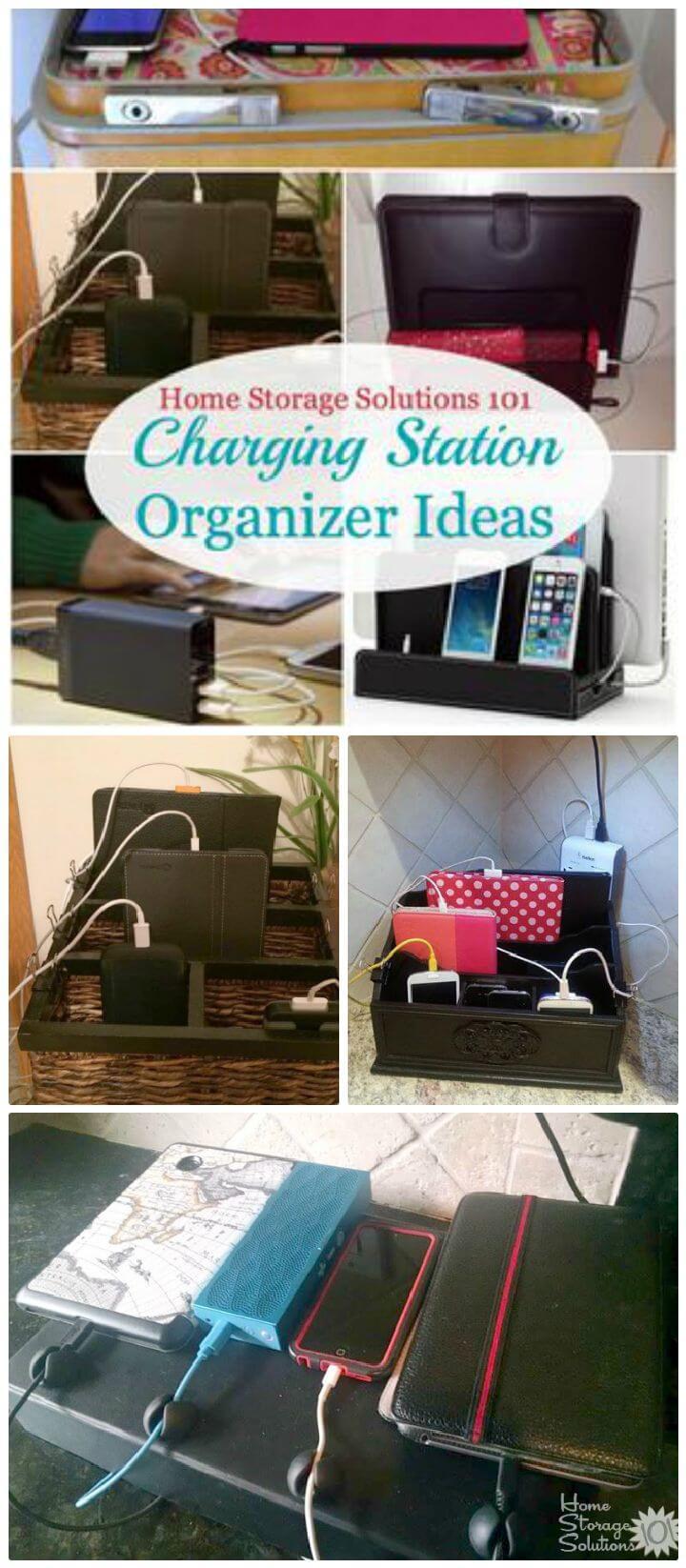 40 Best Diy Charging Station Ideas Easy Simple Unique