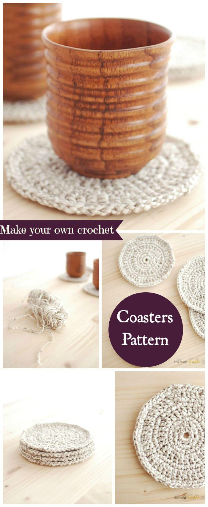 70 Easy Free Crochet Coaster Patterns For Beginners Page