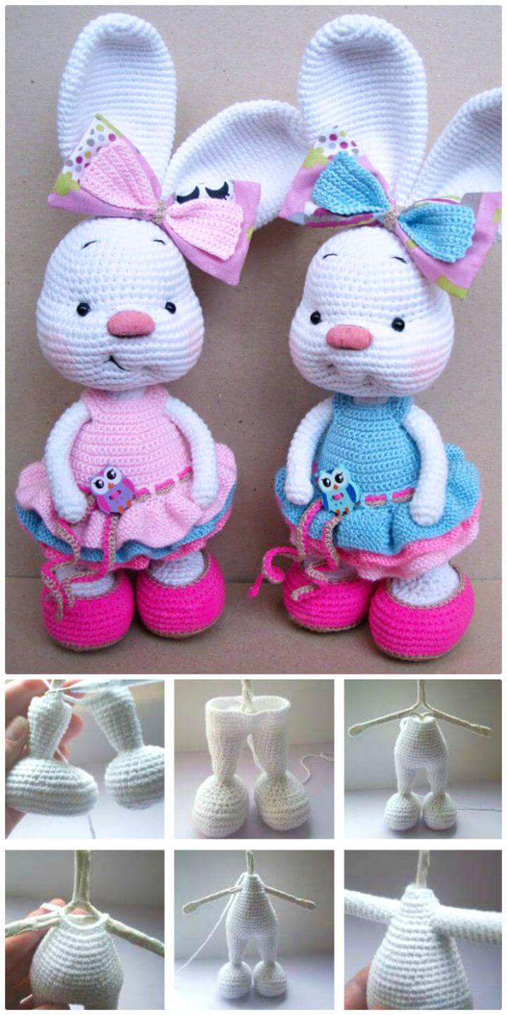 63 Free Crochet Bunny Amigurumi Patterns