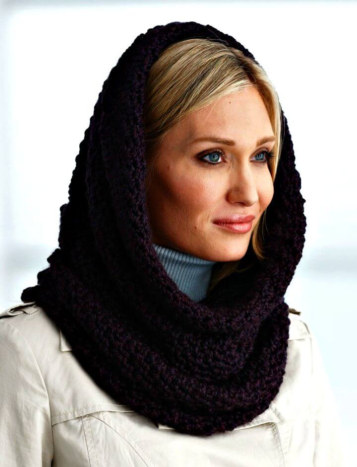 28 Free Crochet Hooded Cowl Patterns Diy Amp Crafts